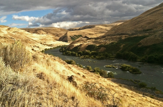 Lower Deschutes River. Photo by Brian O'Keefe.